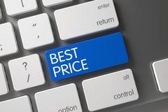 O melhor close up do preço do teclado 3d Imagem de Stock Royalty Free
