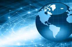 O melhor conceito do Internet do negócio global da série dos conceitos Imagens de Stock Royalty Free