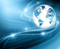 O melhor conceito do Internet do negócio global da série dos conceitos Fotografia de Stock Royalty Free