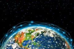 O melhor conceito do Internet do negócio global de Foto de Stock Royalty Free