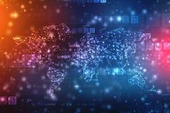 O melhor conceito do Internet do negócio global da série dos conceitos imagem de stock