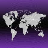 O melhor conceito do negócio do negócio global Fotos de Stock