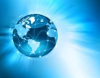 O melhor conceito do negócio global Fotografia de Stock