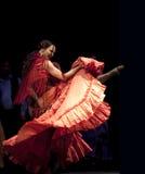 O melhor drama da dança do Flamenco   Fotos de Stock