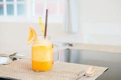 O melhor gosto do suco de laranja Fotos de Stock