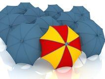 O melhor guarda-chuva Fotografia de Stock
