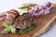 O melhor hamburguer Foto de Stock