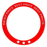 O melhor preço Foto de Stock