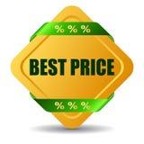 O melhor preço ilustração stock