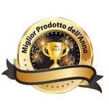 O melhor produto do ano - fita italiana da concessão Fotografia de Stock