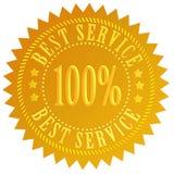 O melhor serviço ilustração stock