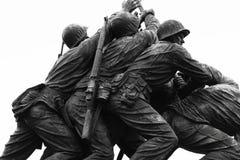 O memorial da guerra do Corpo dos Marines Fotografia de Stock Royalty Free