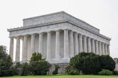 O memorial de Abraham Lincoln, Washington DC - EUA fotografia de stock