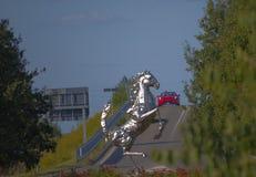 O memorial de Ferrari Imagens de Stock Royalty Free