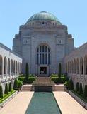 O memorial de guerra australiano em Canberra Foto de Stock