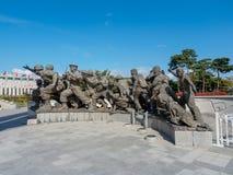 O memorial de guerra de Coreia situado o 22 de outubro de 2017 em Yongsan-gu, Imagem de Stock Royalty Free