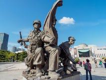 O memorial de guerra de Coreia situado o 22 de outubro de 2017 em Yongsan-gu, Fotografia de Stock Royalty Free