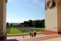 O memorial de Thiepval aos desaparecidos do Somme Imagens de Stock