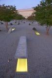 O memorial do Pentágono Fotografia de Stock Royalty Free
