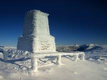 O memorial em montanhas gigantes/Karkonosze Foto de Stock