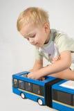 O menino. imagens de stock