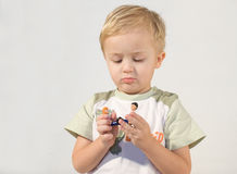 O menino. fotos de stock royalty free