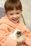 O menino agradável Fotografia de Stock Royalty Free