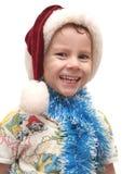 O menino alegre Imagem de Stock Royalty Free