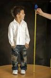 O menino alegre Foto de Stock Royalty Free
