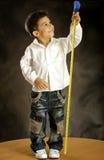 O menino alegre Imagens de Stock Royalty Free