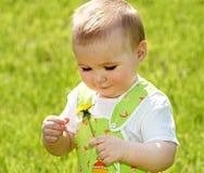 O menino bonito Imagem de Stock Royalty Free