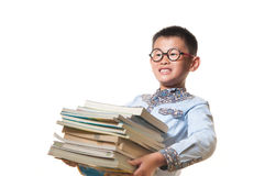 O menino chinês Fotografia de Stock