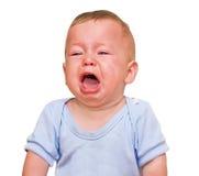 O menino de grito Imagem de Stock Royalty Free