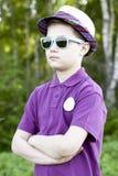 O menino do menino Fotografia de Stock