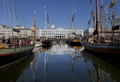 O mercado Báltico dos arenques Fotografia de Stock Royalty Free