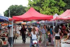 O mercado da China Fotografia de Stock