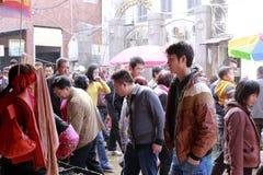 8o mercado da cidade amoy, porcelana Fotos de Stock Royalty Free