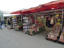 O mercado da flor, Amsterdão Imagem de Stock Royalty Free