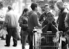 O mercado de Bethleem Fotografia de Stock Royalty Free