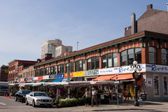 O mercado de ByWard em Ottawa Canadá Imagem de Stock Royalty Free