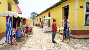 O mercado em Trinidad. Cuba. Fotos de Stock
