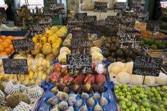 O mercado famoso em Viena Fotografia de Stock Royalty Free