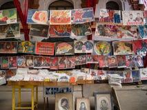 O mercado no Kremlin de Izmailovsky, Moscou foto de stock