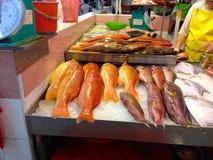 O mercado para na cidade de Singapura China Fotografia de Stock Royalty Free
