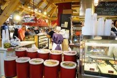 O mercado terminal em Philadelphfia, PA da leitura imagens de stock