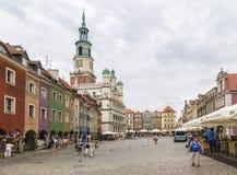 O mercado velho e a câmara municipal fotos de stock royalty free