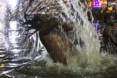 O mergulho santamente Fotografia de Stock
