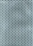 O metal fura a textura Fotografia de Stock Royalty Free