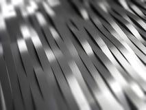 O metal listra o fundo Foto de Stock