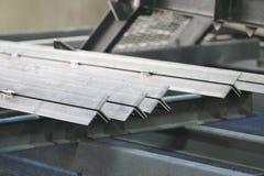 O metal perfila o ângulo Imagem de Stock